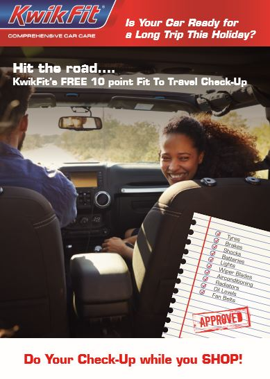 Holiday Car Check-Up Flyer front